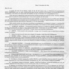 Cartas comerciales: REUS APARTAMENTOS CAMPIMAR MUEBLES PERPIÑA ROALBA AÑO 1964. Lote 118830755