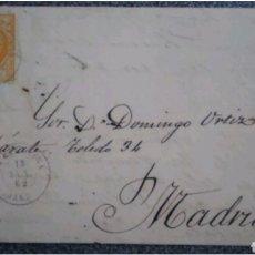 Cartas comerciales: CARTA EDIFIL 52 DE LA CAROLINA A MADRID 1873. Lote 119015630