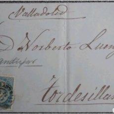 Cartas comerciales: CARTA EDIFIL 88 DE ANDUJAR A TORDESILLAS 1867. Lote 119016106