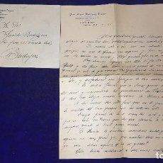 Lettere commerciali: ANTIGUA CARTA COMERCIAL FABRICA MOSAICOS, JUAN MIGUEL RODRIGUEZ DONOSO, CASTUERA-BADAJOZ, AÑO 1941. Lote 119366707