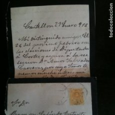 Cartas comerciales: TRATANTE DE GANADO RAMON GALINDO-CHODOS. Lote 120648971