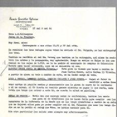 Cartas comerciales: CARTA COMERCIAL. RAMON GONZALEZ IGLESIAS. REPRESENTACIONES. VITORIA. 1964. Lote 125873379