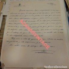 Cartas comerciales: JAEN, SIGLO XIX, CARTA COMERCIAL HOTEL ROSARIO. Lote 125896439
