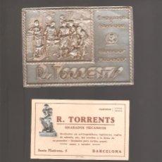 Cartas comerciales: GRABADOS MECANICOS R. TORRENTS . Lote 135792494