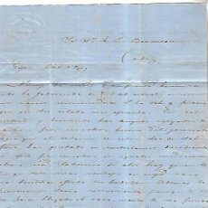 Cartas comerciales: CARTA COMERCIAL. PANDO HERMANO. GIJON. 1873. VER DORSO. Lote 137282314