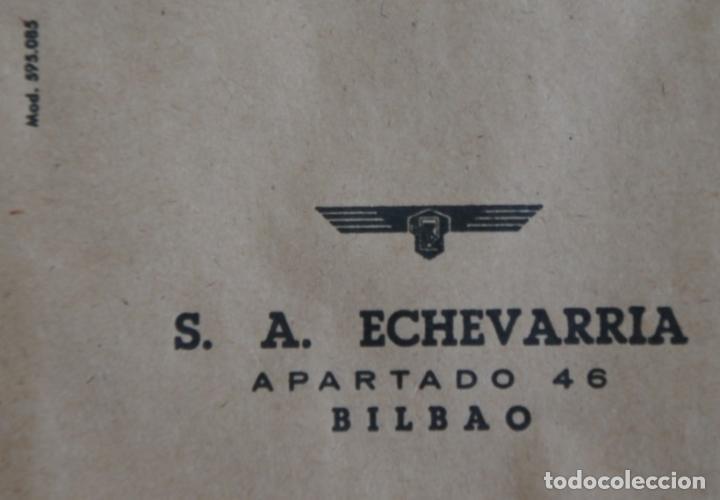 SOBRES DE LA ANTIGUA FABRICA ECHEVARRIA (ETXEBARRIA) S.A. DE BILBAO. AÑOS 70 (Coleccionismo - Documentos - Cartas Comerciales)
