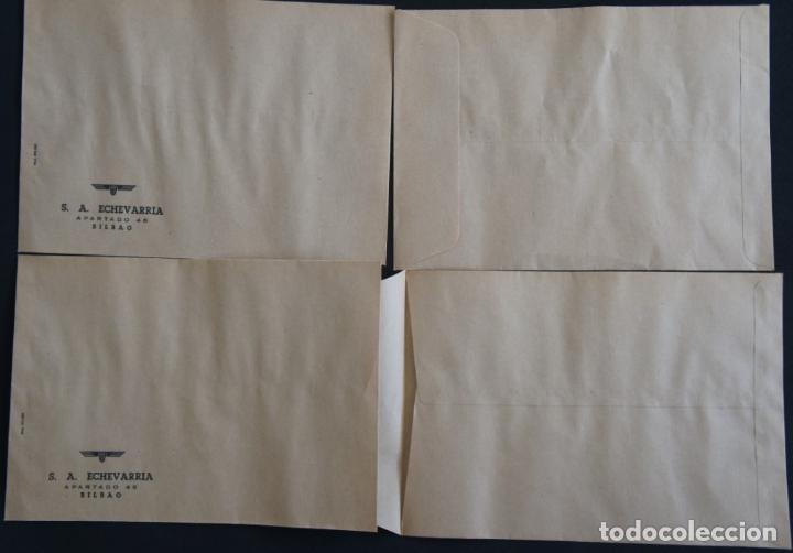 Cartas comerciales: Sobres de la antigua fabrica Echevarria (Etxebarria) S.A. de Bilbao. Años 70 - Foto 3 - 137576218