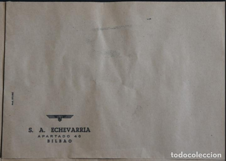 Cartas comerciales: Sobres de la antigua fabrica Echevarria (Etxebarria) S.A. de Bilbao. Años 70 - Foto 5 - 137576218
