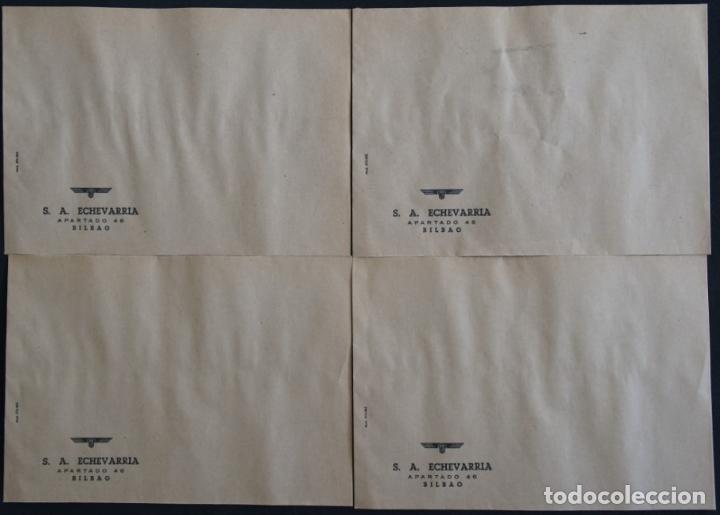 Cartas comerciales: Sobres de la antigua fabrica Echevarria (Etxebarria) S.A. de Bilbao. Años 70 - Foto 2 - 137576218
