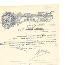 Cartas comerciales: FACTURA ANTIGUA DE TORTOSA DE 1917 FABRICA DE GENEROS DE PUNTO . Lote 140508454