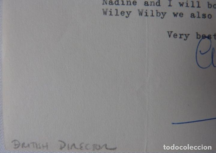 Cartas comerciales: Charles Crichton signed letter ,1963 - Foto 4 - 141140254