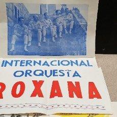 Cartas comerciales: .MAGNIFICO LOTE DE CARTAS Y PUBLICIDAD DE LA INTERNACIONAL ORQUESTA ROXANA.....AÑOS 60.... Lote 144218654