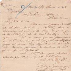Cartas comerciales: CARTA COMERCIAL. ELOY GONZALEZ. COSTA RICA 1897. Lote 144425938