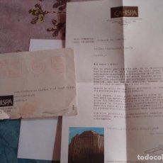 Cartas comerciales: CARTA AÑOS 70 COMERCIAL. Lote 153585086