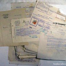 Cartas comerciales: GRAN LOTE DE MAS DE 170 CARTAS COMERCIALES DE ASTURIAS DURANTE LA GUERRA CIVIL. ORIGINALES.. Lote 155572022