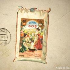 Cartas comerciales: CARTA CON MATASELLOS DIFÍCIL ENCONTRAR . Lote 155655726