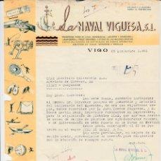 Cartas comerciales: CARTA COMERCIAL ARMAS- LA NAVAL VIGUESA EN VIGO- PEDIDO DE PISTOLAS STAR . Lote 156637538