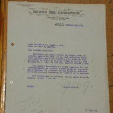 Cartas comerciales: BANCO DEL COMERCIO HABANA CUBA. FIRMA SUBDIRECTOR.. Lote 156828650
