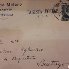 Cartas comerciales: PONTEVEDRA RICARDO MELERO. Lote 156894685