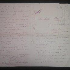 Cartas comerciales: LOTE DE CUATRO CARTAS COMERCIALES DE DON SEBASTIAN BLANDINO (ALGECIRAS) A HERMANOS GUTIERREZ 1886. Lote 155871826