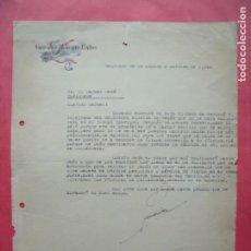 Cartas comerciales: GERARDO MORCILLO BAÑOS.-CARTA COMERCIAL.-SANTIAGO DE LA ESPADA.-JAEN.-AÑO 1941.. Lote 160751338