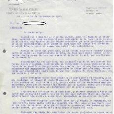 Cartas comerciales: SIMPÁTICA CARTA COMERCIAL PICKMAN SOCIEDAD ANÓNIMA (1940) / PLATO CARTUJA LISO (ALEMÁN). Lote 166095114