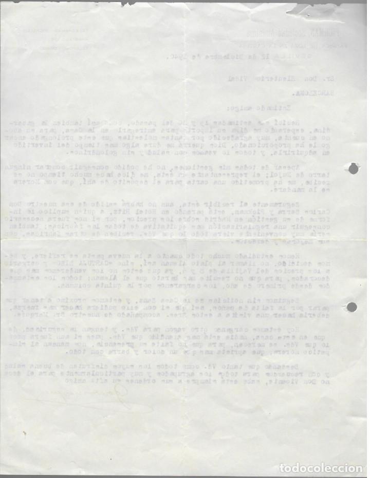 Cartas comerciales: Simpática carta comercial Pickman Sociedad Anónima (1940) / Plato Cartuja Liso (Alemán) - Foto 2 - 166095114