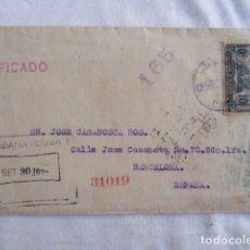 Cartas comerciales: CARTA COMERCIAL. HABANA. CUBA. 1938. N. GELATS Y CIA.. Lote 166961120
