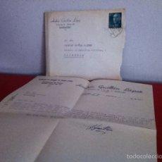 Cartas comerciales: ANDRÉS GUILLÉN LÓPEZ ( BARBASTRO) ALMACÉN DE TRAPOS. 1956. Lote 168709569