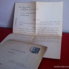 Cartas comerciales: JOAQUÍN MARTÍNEZ CARMEN ( LICORES). JEREZ DE LA FRONTERA 1946. Lote 168710114