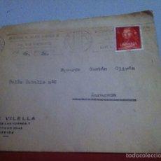 Cartas comerciales: JUAN VILELLA ( LÉRIDA) 1961. EXPLOTACIÓN GENERAL DE TRAPOS. Lote 168710646