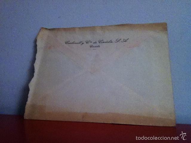 Cartas comerciales: CARBONELL Y CIA . CÓRDOBA. 1957. Vinos y coñacs - Foto 4 - 168710920