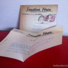 Cartas comerciales: ALMACENES DE SACOS Y BOTELLAS .( SAN SEBASTIÁN) 1946. Lote 168716008