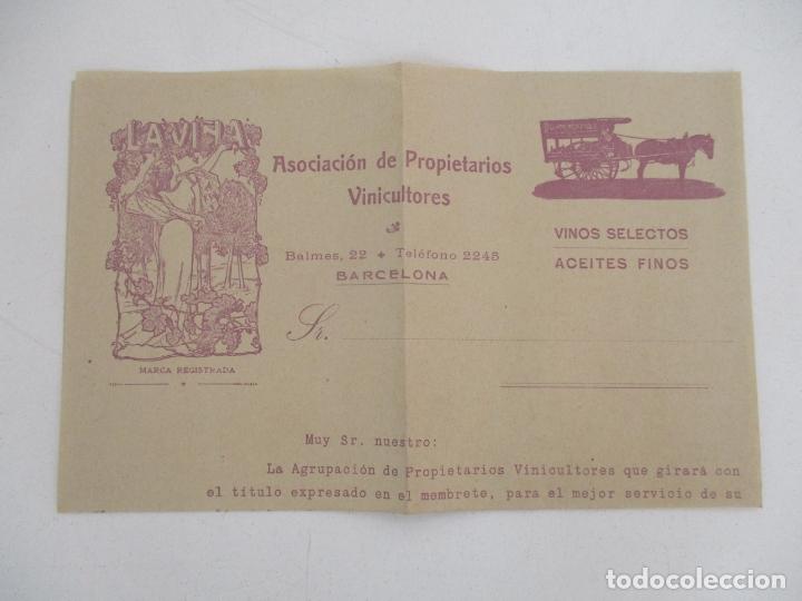 Cartas comerciales: Carta Asociación de Propietarios Vinicultores - La Viña - Vinos selectos, Aceites Finos - Foto 2 - 169581848