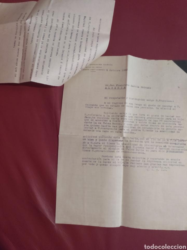 Cartas comerciales: Coto minero de las Menas Serón Almería. Carta comercial - Foto 2 - 170143016