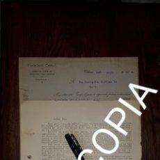 Cartas comerciales: CONVENCION DE ALMACENISTAS DE TARJETAS POSTALES DE ESPAÑA 1924. Lote 172951929