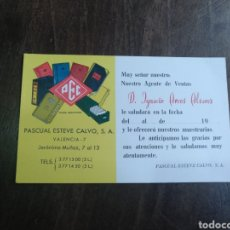 Cartas comerciales: CARTA COMERCIAL PASCUAL ESTEVE CALVO. PEC. Lote 176341135
