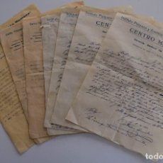 Cartas comerciales: LOTE 7 CARTAS CENTRO PSÍQUICO Y ESTÉTICO PERFECCIÓN HUMANA, OCTAVIO DE ANISLE AÑO 1927 MANUSCRITA. Lote 178137163