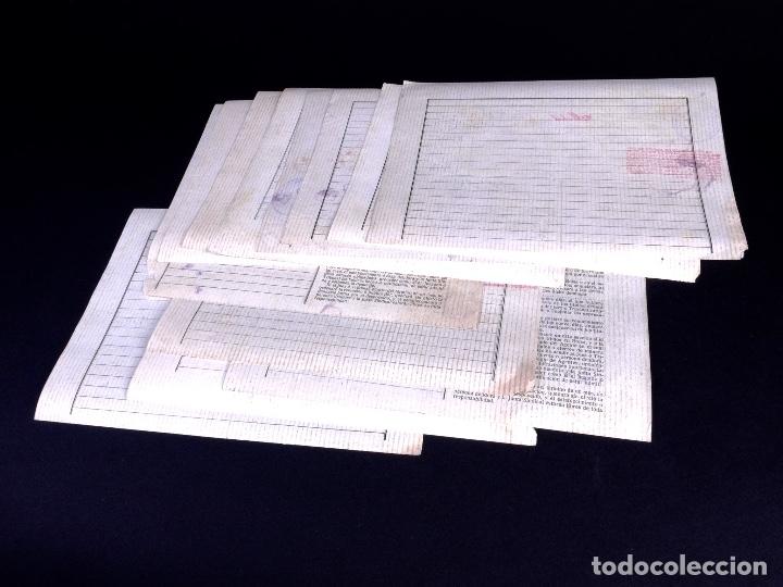 Cartas comerciales: POLIZAS DE BOLSA POR OPERACION AL CONTADO. LOTE DE 14 UDS. MADRID 1899-1923 - Foto 3 - 179181763