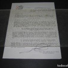 Cartas comerciales: NOTA DE SALVAT EDICLUB - TIME LIFE - FDO. JOSEP MANUEL DE LA PRADA ASESOR LITERARIO - 1971. Lote 179257262
