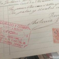 Cartas comerciales: CARTA O DOCUMENTO ANTONIO VALERO. Lote 181578358