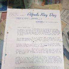 Cartas comerciales: ANTIGUA CARTA CONFITERIA ALFREDO REIG ALMANSA ALBACETE 1944. Lote 268766244