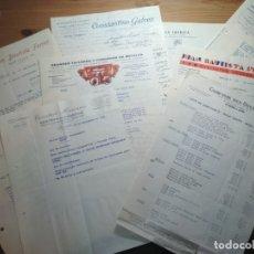 Cartas comerciales: LOTE DE 10 CARTAS COMERCIALES (ÉPOCA DE LA 2ª REPÚBLICA ESPAÑOLA ) (3). Lote 181959608