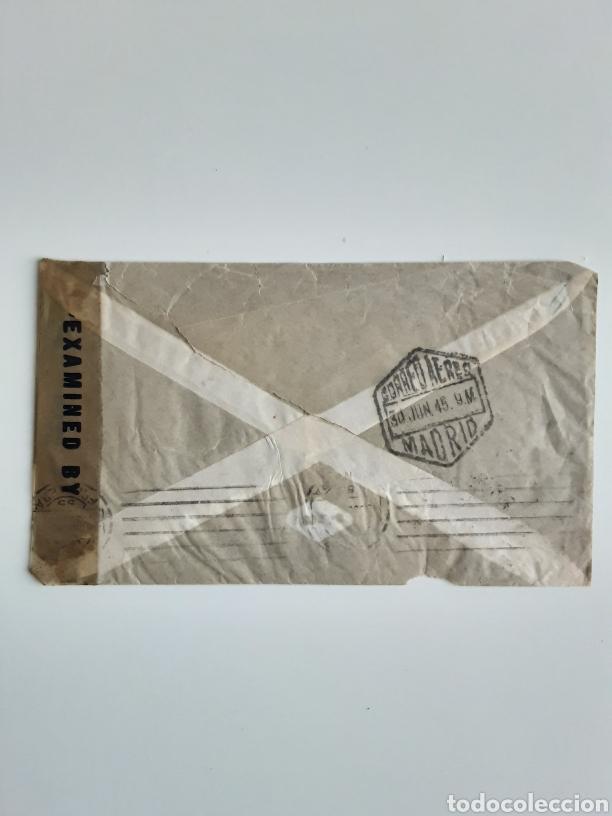 Cartas comerciales: Wetzel & Soler sobre con correspondencia Buenos Aires 1945 - Foto 2 - 183721090