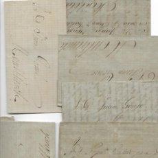 Cartas comerciales: MONTBLANC - 19 CARTAS-SOBRES COMERCIALES - INTERESANTES AÑOS 1870 . Lote 188180336