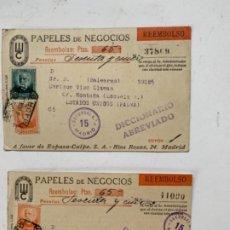 Cartas comerciales: PAPELES DE NEGOCIOS DE ESPASA CALPE. Lote 188205610