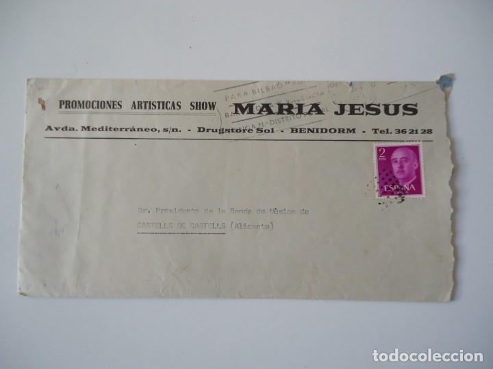Cartas comerciales: carta comercial promociones artisticas show Maria Jesus,Benidorm - Foto 2 - 189479015