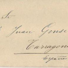 Cartas comerciales: ROMA - AÑO 1902 - SOBRE - CARTA COMERCIAL CON SELLO Y MATASELLOS DE LA EPOCA Y. Lote 190583095