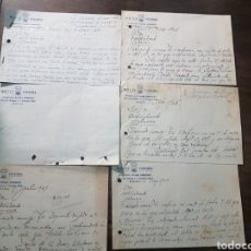 Cartas comerciais: 6 CARTA COMERCIAL HOTEL CATALUÑA. MANUEL RODRÍGUEZ MÁLAGA 1946 Y 1947. Lote 190748721