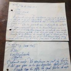 Cartas comerciales: CARTA COMERCIAL HOTEL CUATRO NACIONES. CÓRDOBA 1946. Lote 190756628